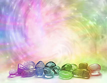 Crystals absorb the lif giving elements of the universe