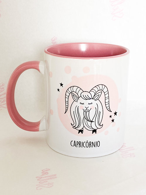 Caneca Capricórnio.
