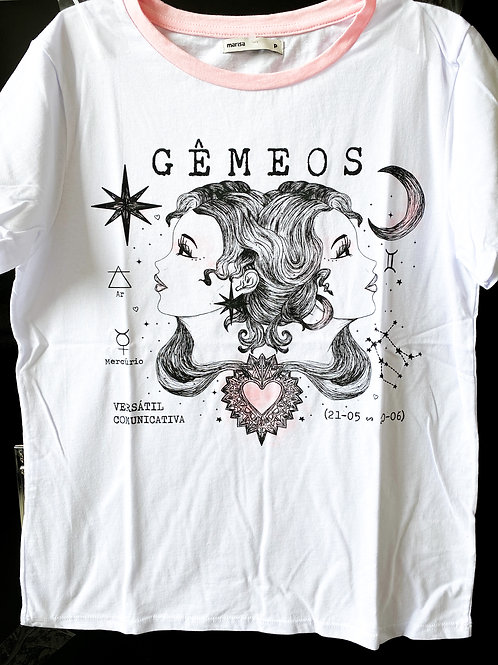 Camiseta de Gêmeos