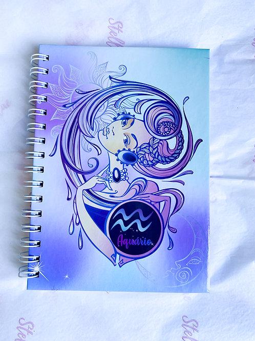Caderno Aquário