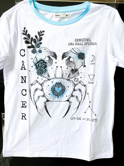 Camiseta de Câncer