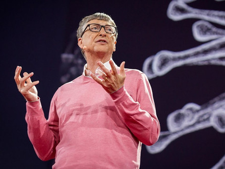 Bill Gates patented a chip that will be placed in the coronavirus vaccine