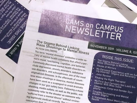 The Stigma Behind Linking Mass Shootings to Mental Illness - NYU CAMS Newsletter