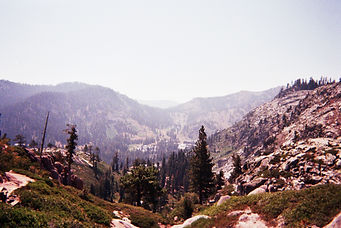 five lakes, lake tahoe, hiking, california