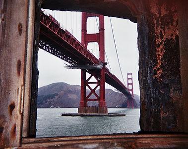 golden gate bridge, fort, san francisco, california, Ca