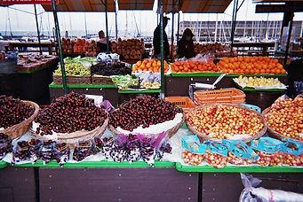 farmers market, san fran