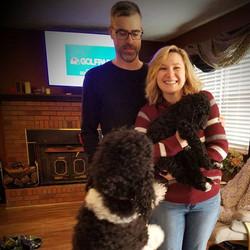 Artemis new family! #dogparents #puppy #