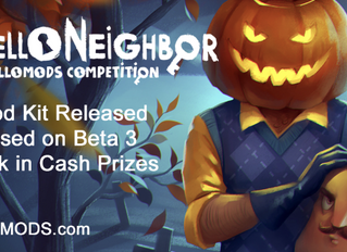 Announcing Hello Neighbor Modding Competition - HelloMods! With $5k in cash prizes
