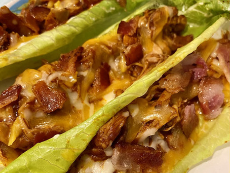 27. Low Carb Instapot Chicken Taco Boats