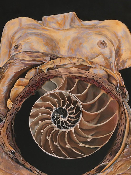 Cosmic Mother Fine Art Print