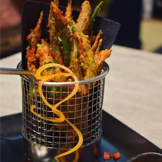 Okra fries