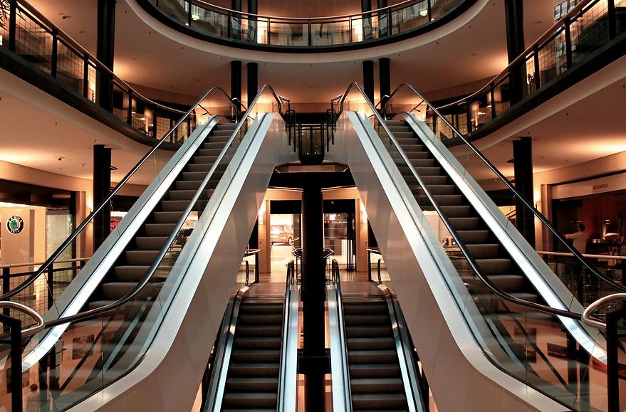 escalator-stairs-metal-segments-architec