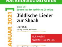 Gedenktag für die Opfer des Nationalsozialismus am 27.1.20
