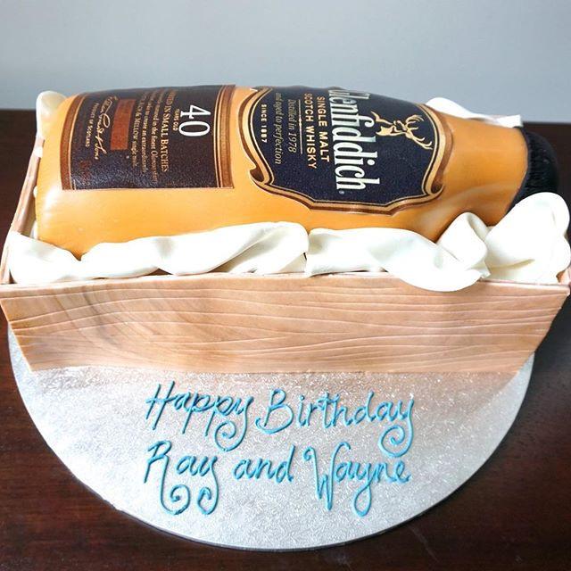Whisky Bottle Cake