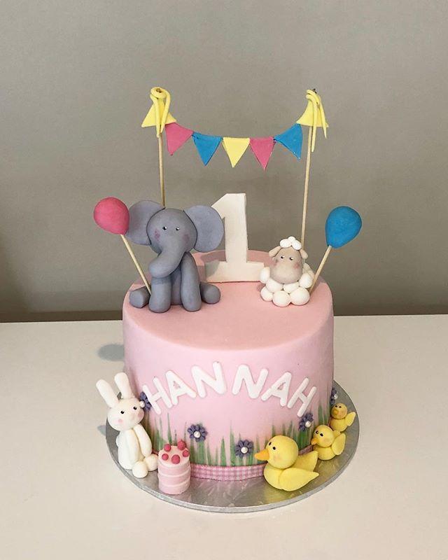 PJ Masks Birthday Cake Baby Animal First