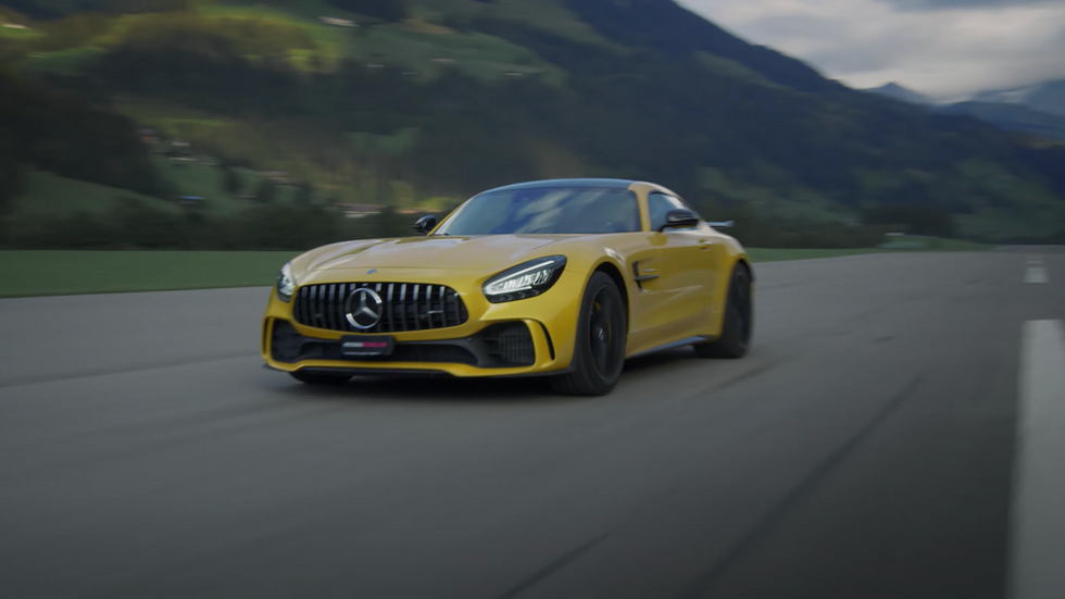 Mercedes-AMG: Die Kraft muss auf die Strasse