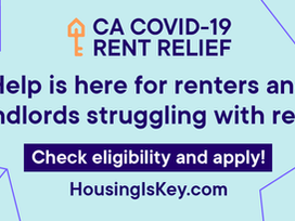 CA COVID‐19 Rent Relief Now Available