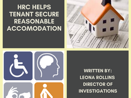 HRC Helps Tenant Secure Reasonable Accommodation