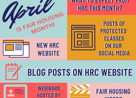 Welcome to National Fair Housing Month!