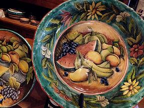 NoMas-Majolica-fruitgreenplate.jpg