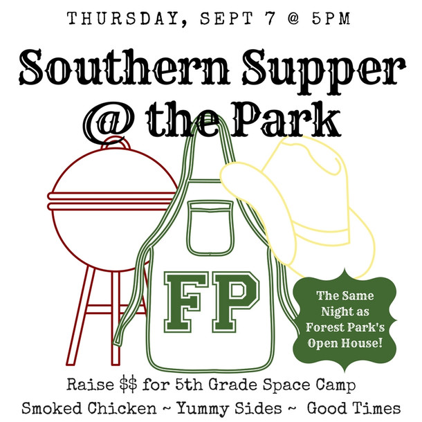 Southern Supper at the Park