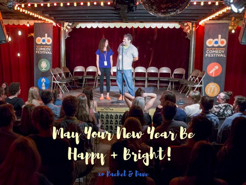 rachel & dave out of bounds comedy festival 2017
