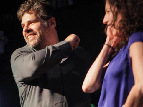 rachel + davev dallas comedy festival 2012