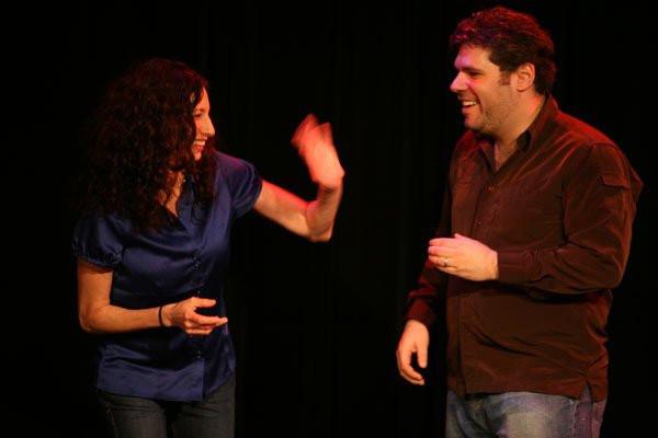 rachel and dave show - north carolina comedy arts festival 2010