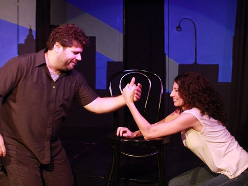 rachel and dave show - hideout theatre 2011