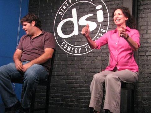 rachel & dave show north carolina comedy arts festival 2010