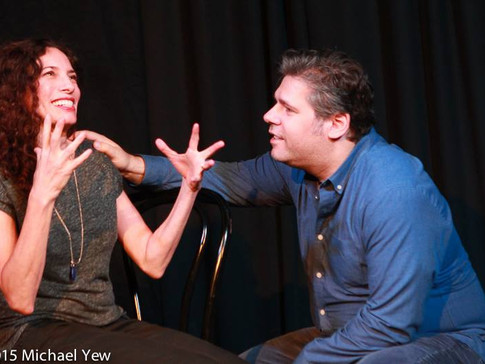 rachel and dave show - hideout theatre 2015