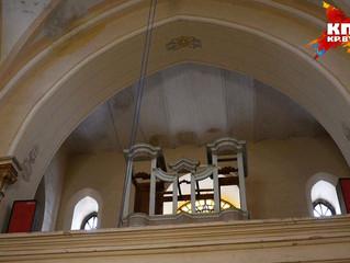 Орган XVIII века восстановили на родине рок-звезды Чеслава Немена: «Трубы были скручены, как змеи, и