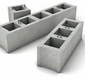 Дырчатые блоки для фундаментов под машин