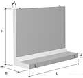 Подпорные стены по серии 3.002.1-2 и 3.0
