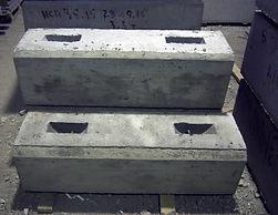етонные блоки укреплений по серии 3.501.