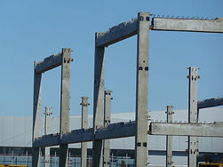 железобетонные колонны для продольного и