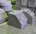 Лекальные блоки фундаментов бетонные по