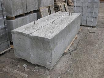 бетонные блоки фундаментов Ф6.201по шиф