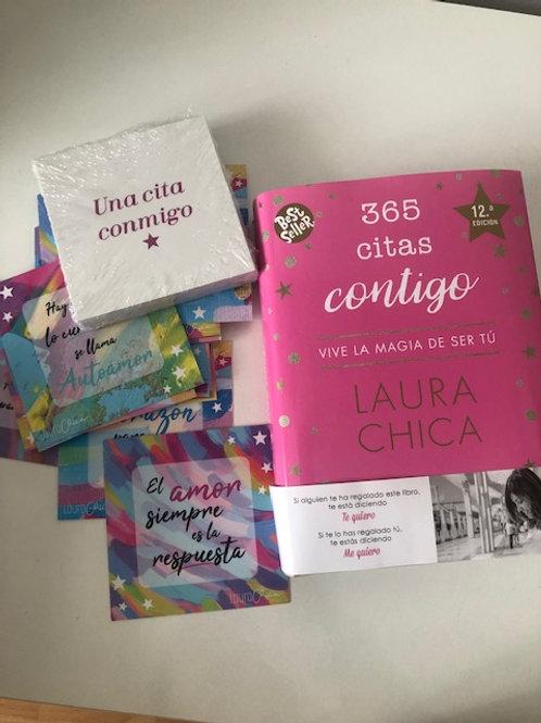 Pack regalo cartas inspiradoras+365 citas contigo