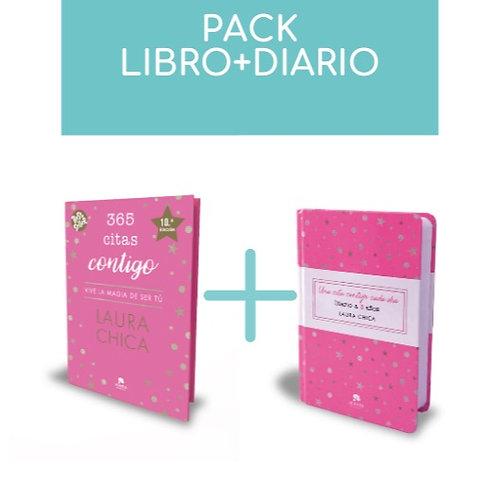 Pack Libro 365 Citas contigo + Diario a 3 años 'Una Cita contigo cada día'
