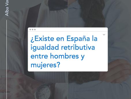 ¿Existe en España la igualdad retributiva entre hombres y mujeres?