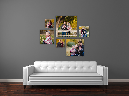 Wrapped Canvas Grouping - CG Picasso