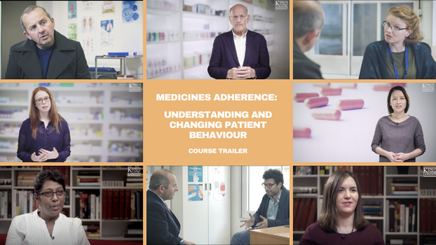 Medicines Adherence: Understanding and Changing Patient Behaviour course trailer