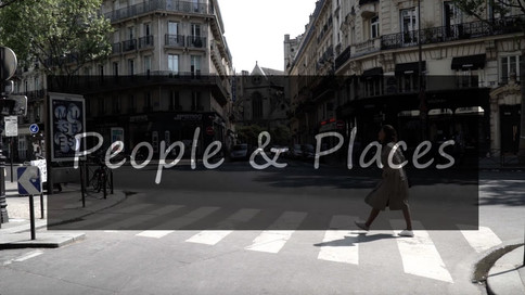 People & Places | Lina & Paris