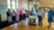 AAHS Exhibit-Amtrak Station, Lancaster,