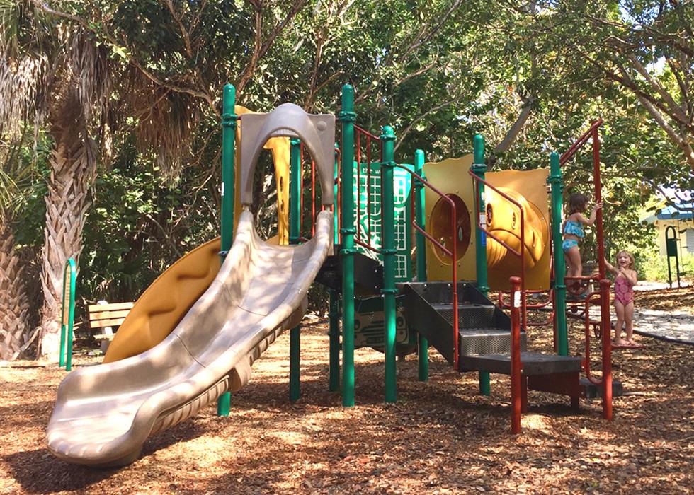 Playground at Bowman's Beach
