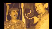 With Carlos Santana
