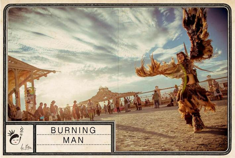 Figurina #16 - burning man