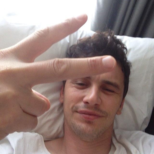 James-Franco-selfie-Instagram