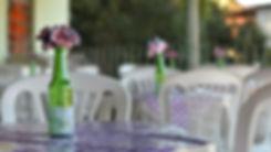 mesas e cadeiras para alugar em Recife